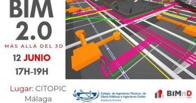 JORNADA BIM 2.0, MÁS ALLÁ DEL 3D, GRATUITA PARA COLEGIADOS