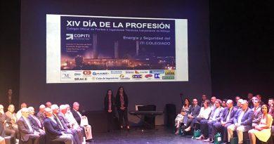 El CITOPIC de Andalucía Oriental asiste a la celebración del XIV Día de la Profesión del COPITI