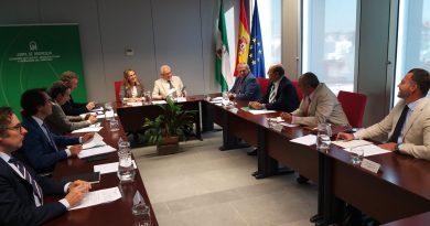 Reunión de colaboración con La Consejería de Fomento, Infraestructuras y Ordenación del Territorio de la Junta de Andalucía