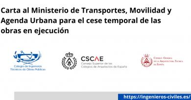 COMUNICADO CONJUNTO DIRIGIDO AL MINISTRO DE TRANSPORTES, MOVILIDAD Y AGENDA URBANA