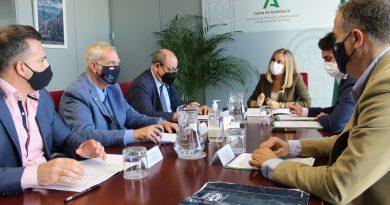 Reunión del CITOP con la Consejera de Fomento, Infraestructuras y Ordenación del Territorio de la Junta de Andalucía, Ilma. Sra. Doña Marifrán Carazo Villalonga
